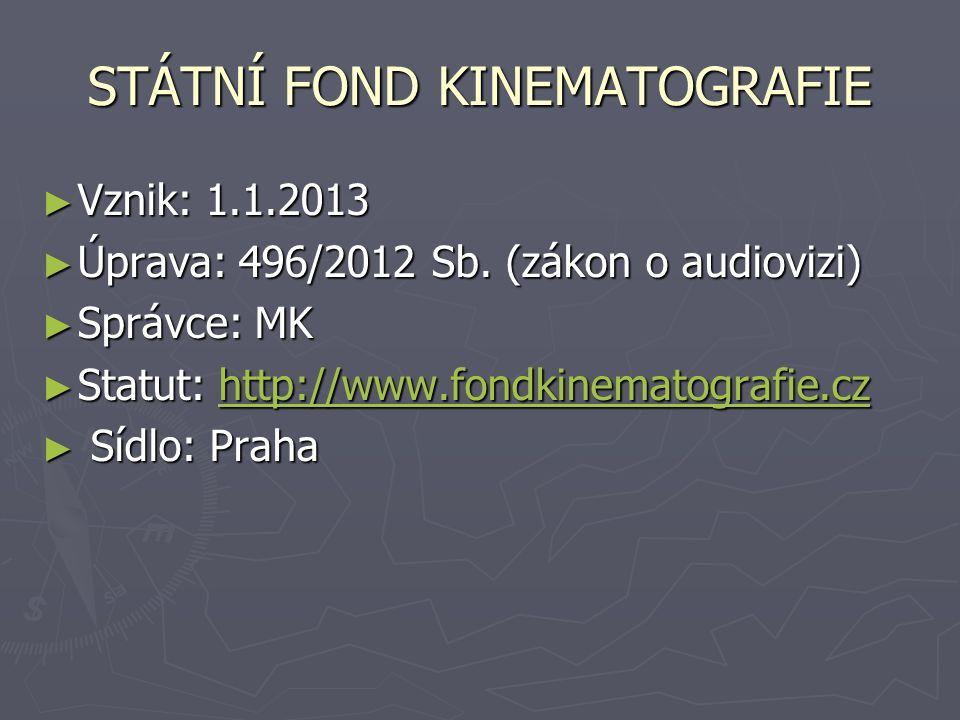 ► Vznik: 1.1.2013 ► Úprava: 496/2012 Sb.