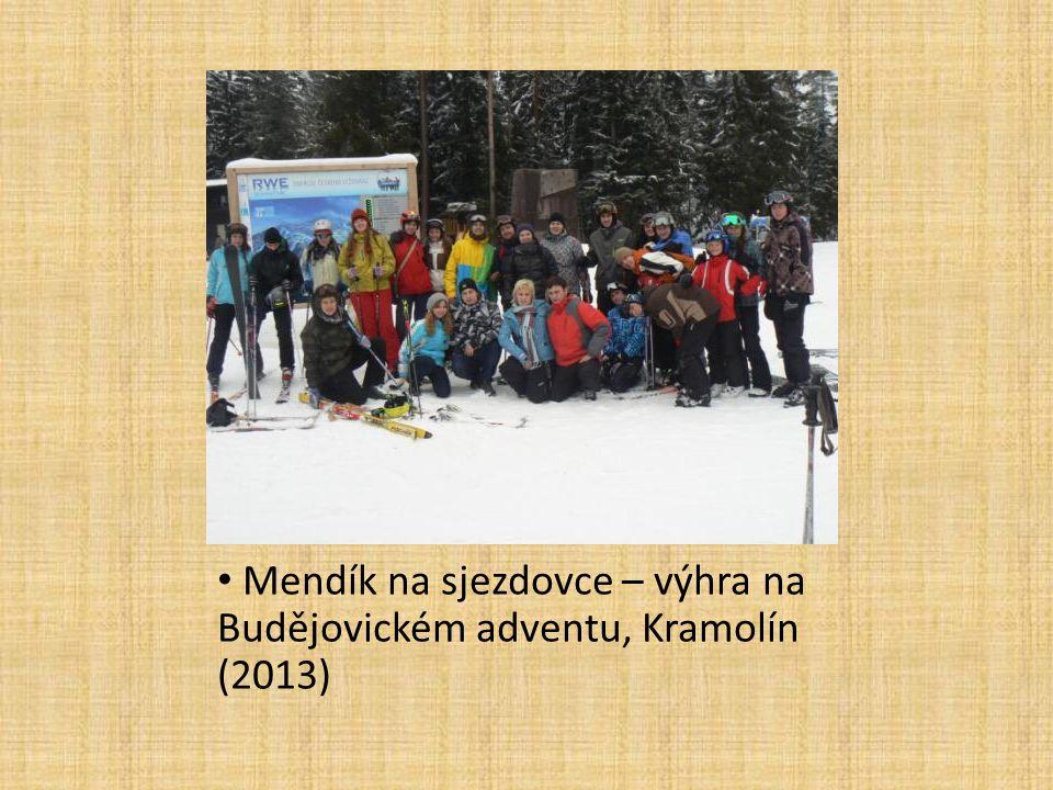 Mendík na sjezdovce – výhra na Budějovickém adventu, Kramolín (2013)