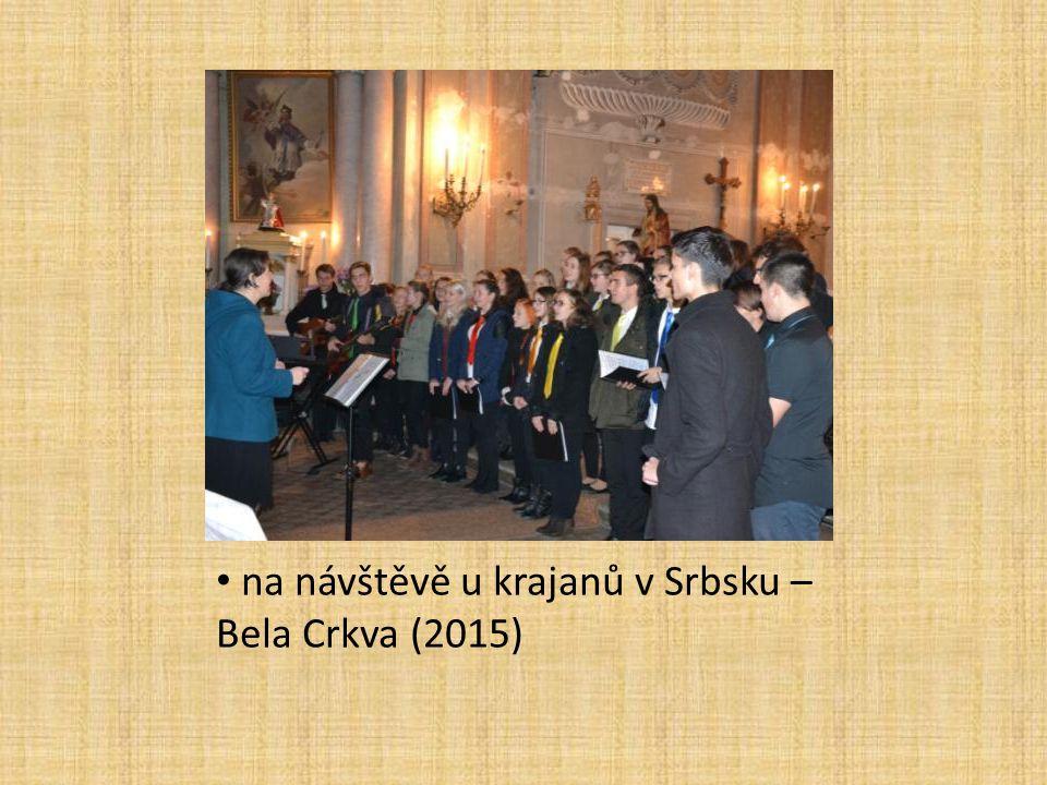 na návštěvě u krajanů v Srbsku – Bela Crkva (2015)