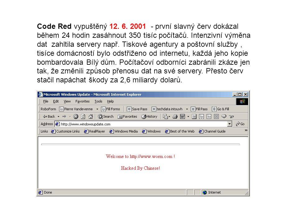 Code Red vypuštěný 12. 6.