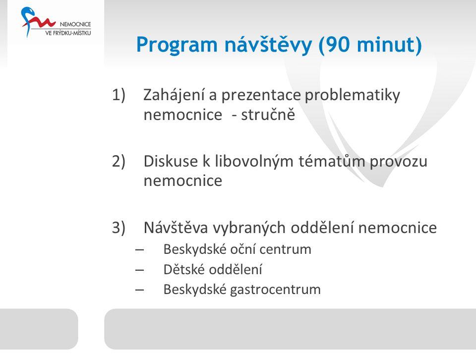 Oddělení nemocnice ARO Gynekologie a porodnictví Chirurgicko- traumatologické odd.