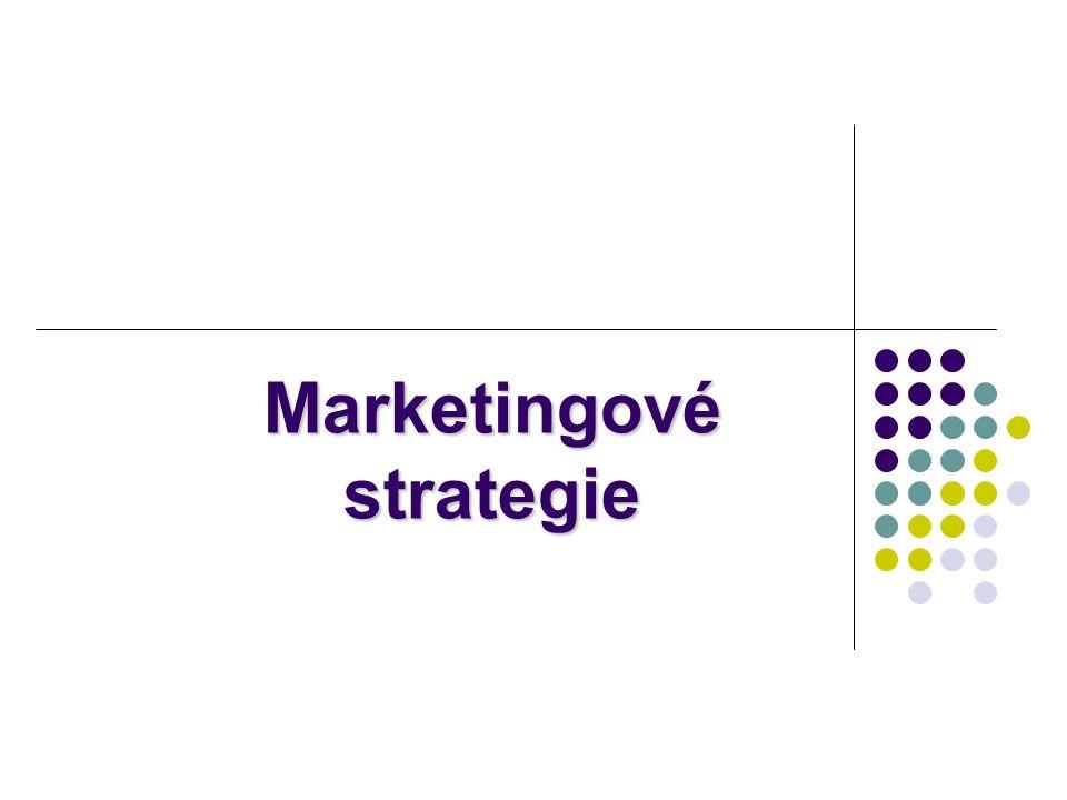 Strategie definuje jak lze definovaného cíle dosáhnout.