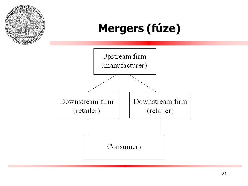 Mergers (fúze) 21
