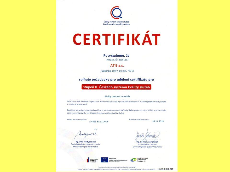Cílový produkt CK ATIS: DOVOLENÁ S DĚTMI , DOVOLENÁ PRO ZRALÝ VĚK chaty, penziony, hotely, lázně, dětská rekreace, firemní akce.