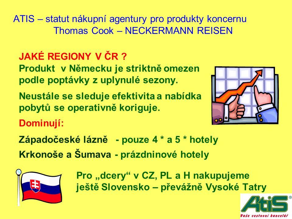 JAKÉ REGIONY V ČR . Produkt v Německu je striktně omezen podle poptávky z uplynulé sezony.