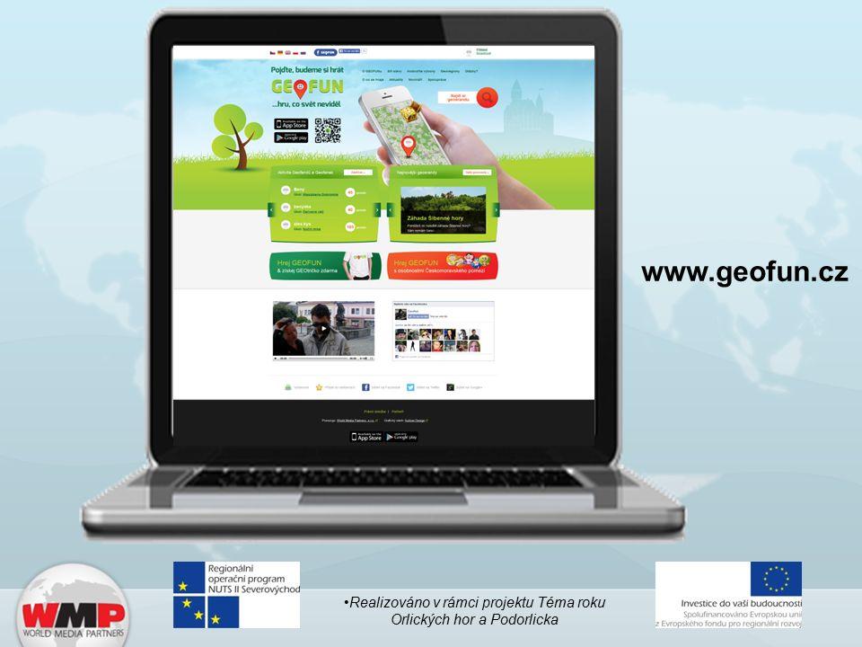 www.geofun.cz Realizováno v rámci projektu Téma roku Orlických hor a Podorlicka