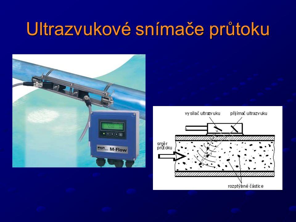 Ultrazvukové snímače průtoku