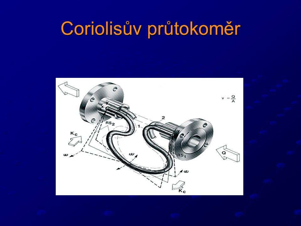 Coriolisův průtokoměr