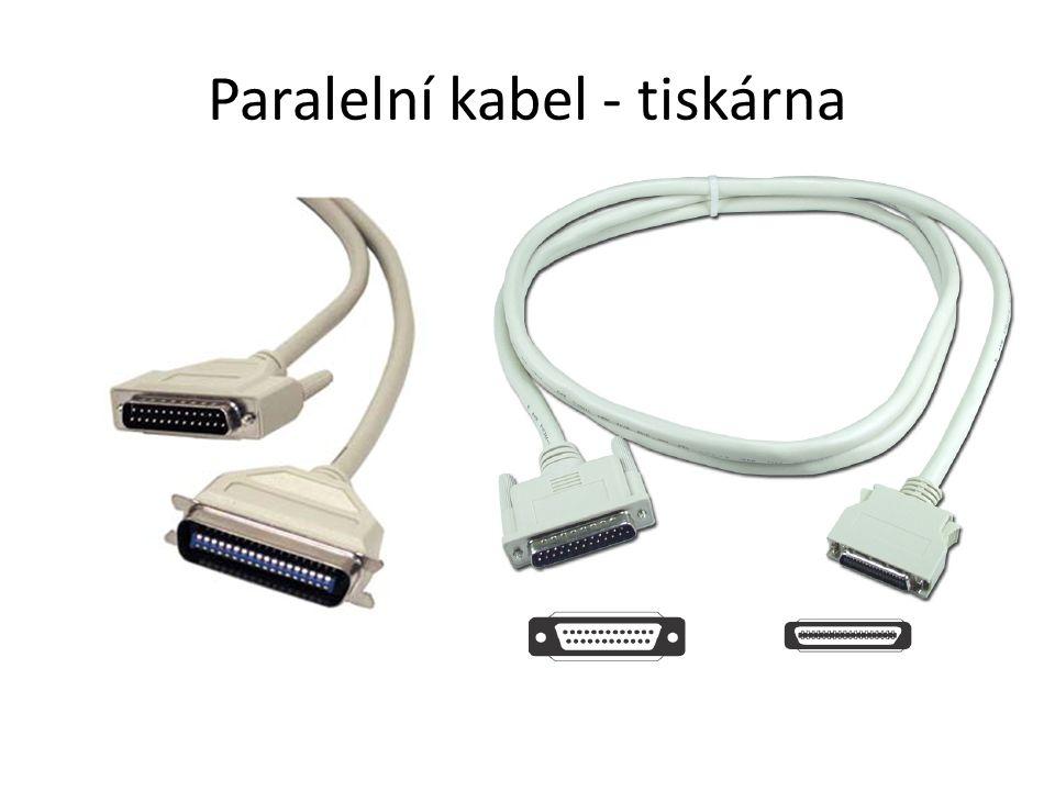 Paralelní kabel - tiskárna