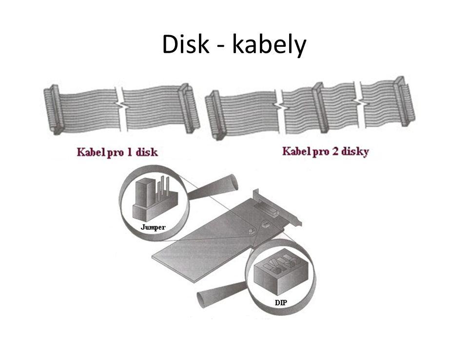 Disk - kabely