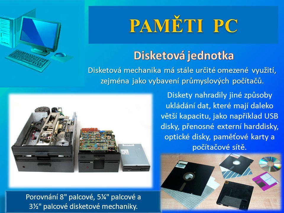 Disketová mechanika má stále určité omezené využití, zejména jako vybavení průmyslových počítačů.