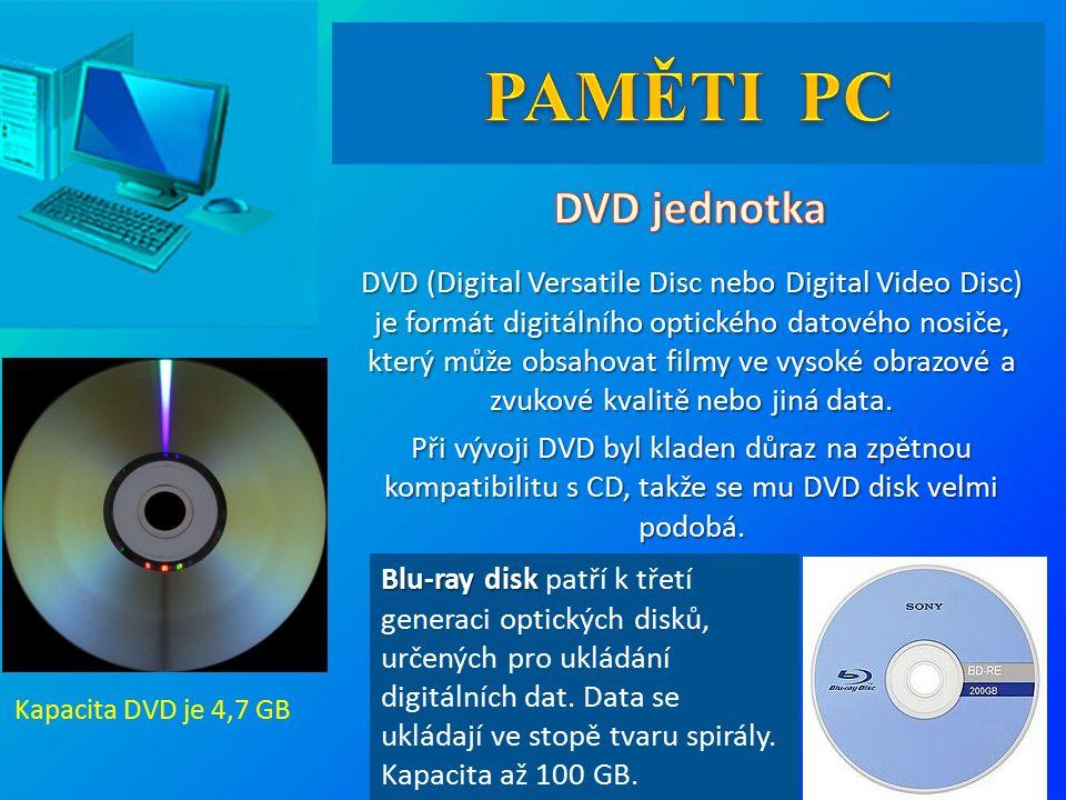 DVD (Digital Versatile Disc nebo Digital Video Disc) je formát digitálního optického datového nosiče, který může obsahovat filmy ve vysoké obrazové a zvukové kvalitě nebo jiná data.