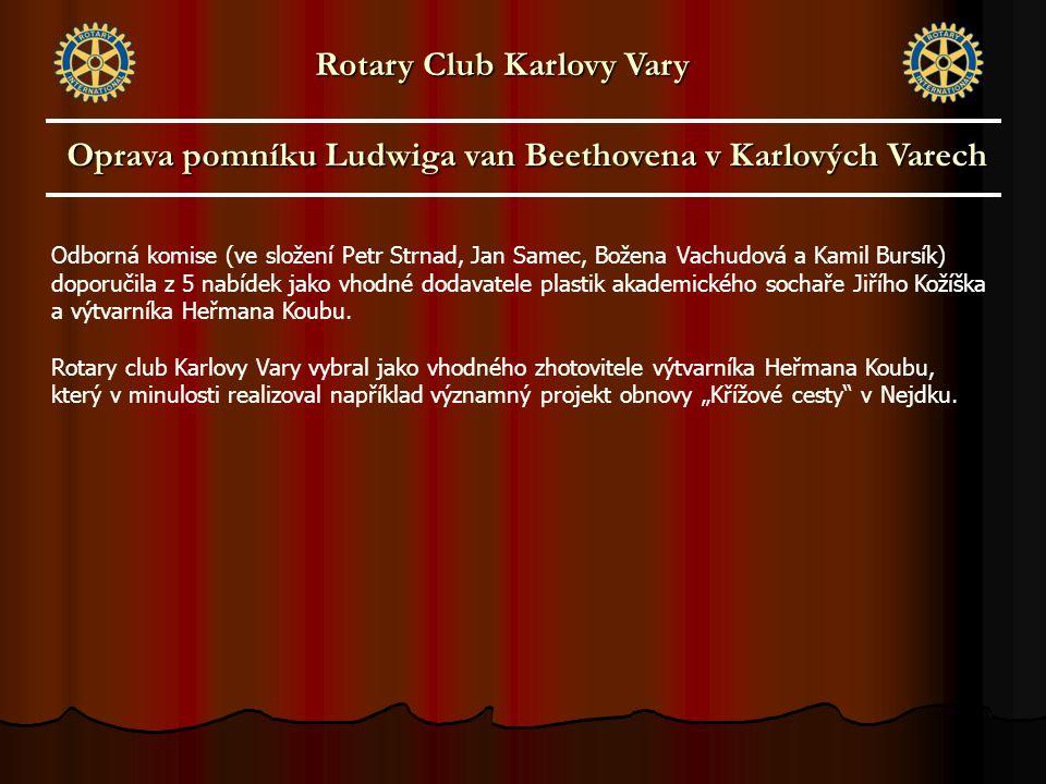 Odborná komise (ve složení Petr Strnad, Jan Samec, Božena Vachudová a Kamil Bursík) doporučila z 5 nabídek jako vhodné dodavatele plastik akademického sochaře Jiřího Kožíška a výtvarníka Heřmana Koubu.