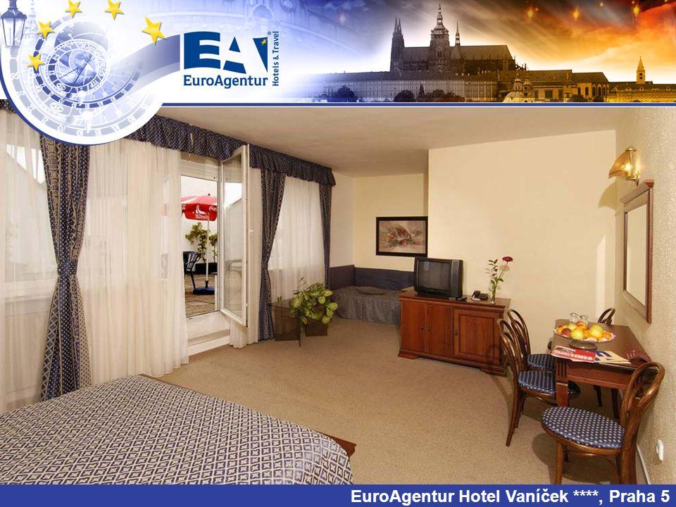 EuroAgentur Hotel Vaníček ****, Praha 5