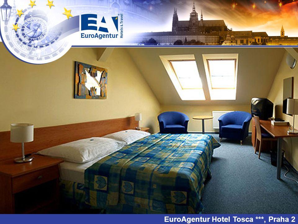 EuroAgentur Hotel Tosca ***, Praha 2