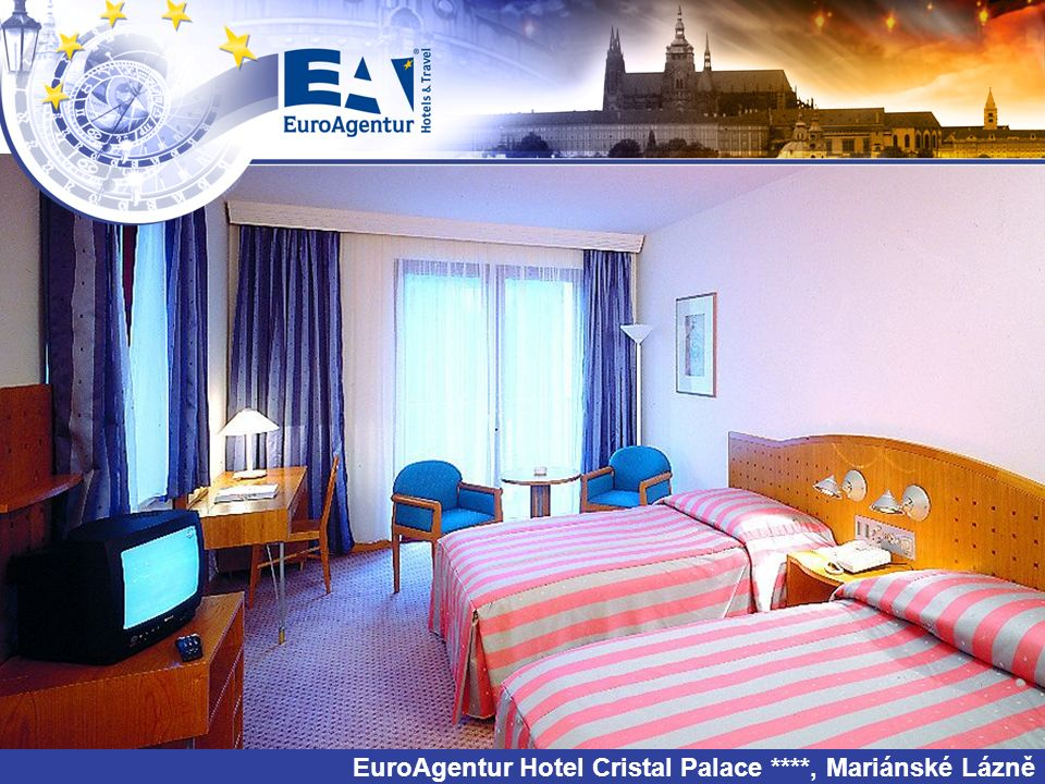 EuroAgentur Hotel Cristal Palace ****, Mariánské Lázně