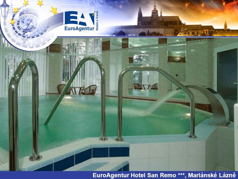 EuroAgentur Hotel San Remo ***, Mariánské Lázně