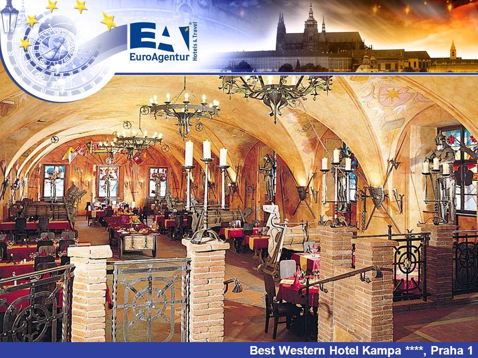 Best Western Hotel Kampa ****, Praha 1