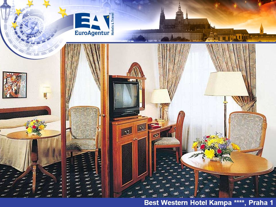 EuroAgentur Hotel Svatá Anežka ***, Jenišov u Lipna