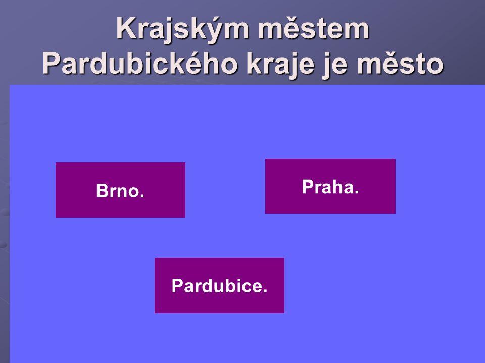 Krajským městem Středočeského kraje je město Liberec. Praha. Jihlava.