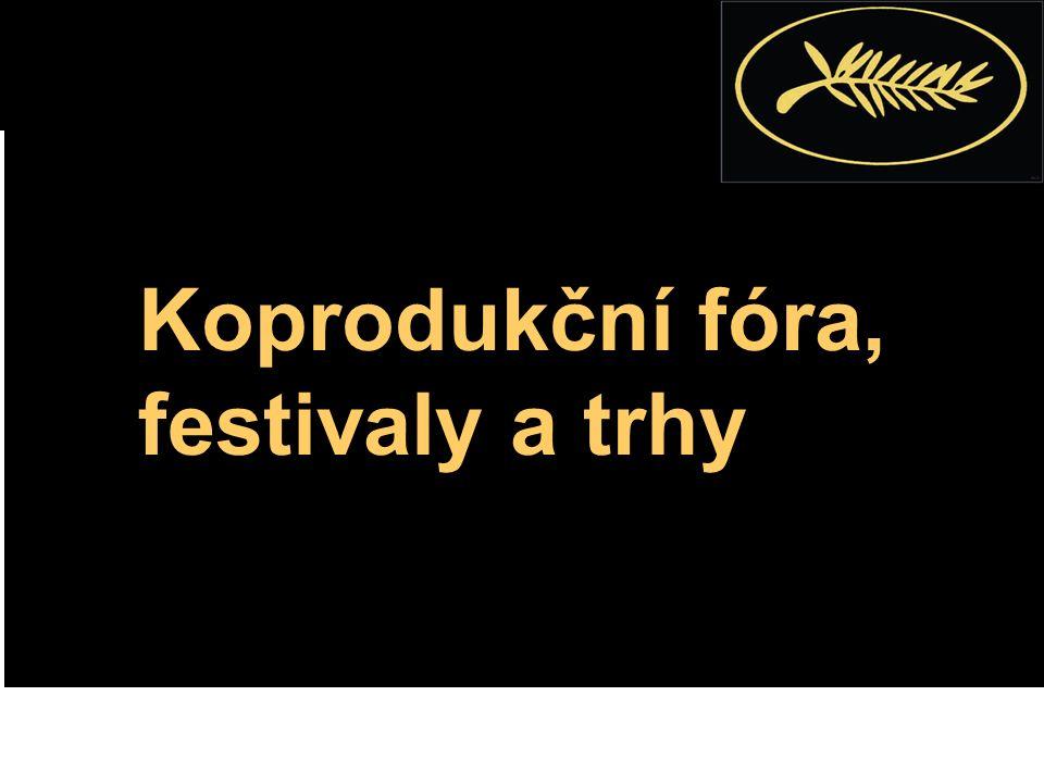 Koprodukční fóra, festivaly a trhy