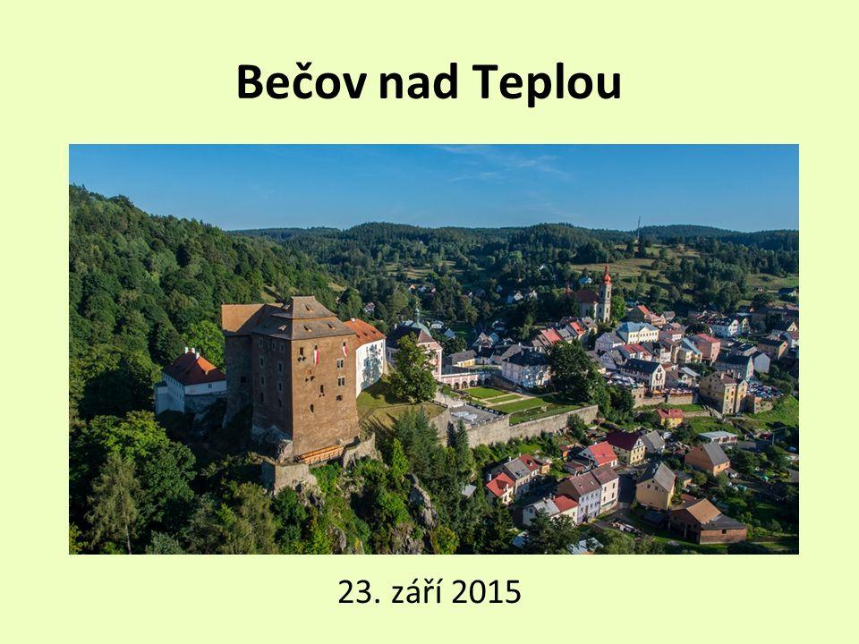 Bečov nad Teplou 23. září 2015