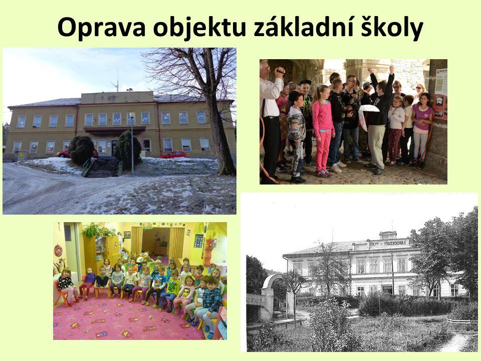 Oprava objektu základní školy