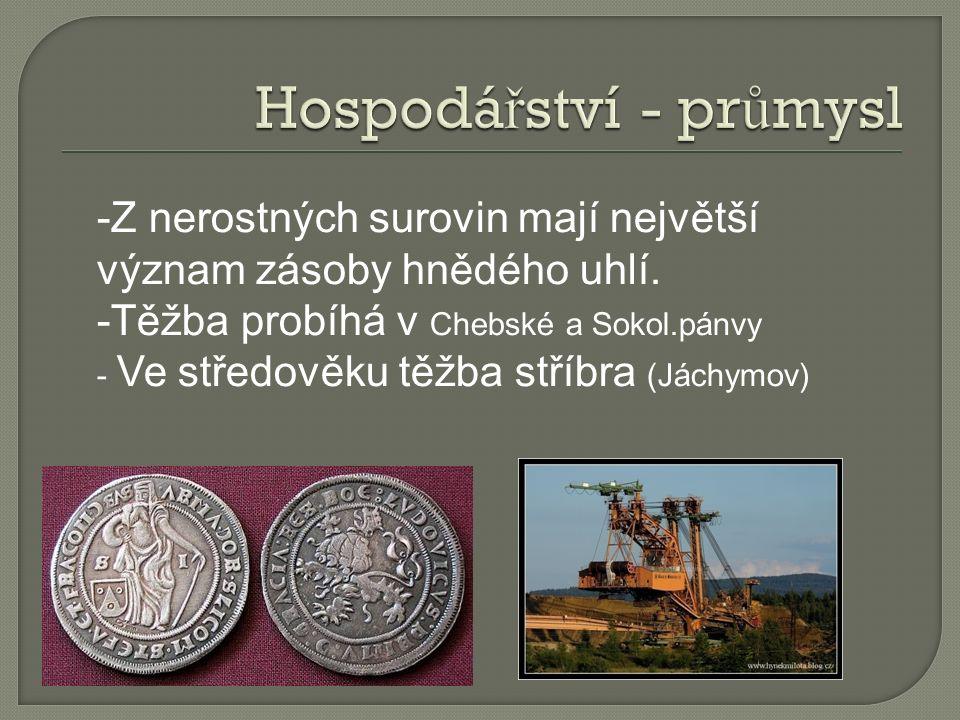  - Uhlí se Sokolovské pánve slou ž í k výrob ě el.