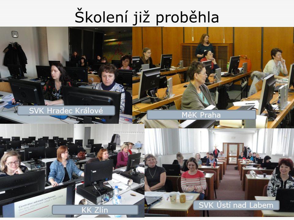 SVK Hradec Králové SVK Ústí nad Labem MěK Praha KK Zlín