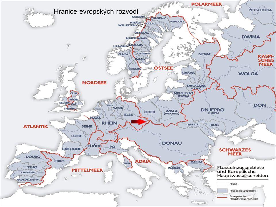 Hranice evropských rozvodí