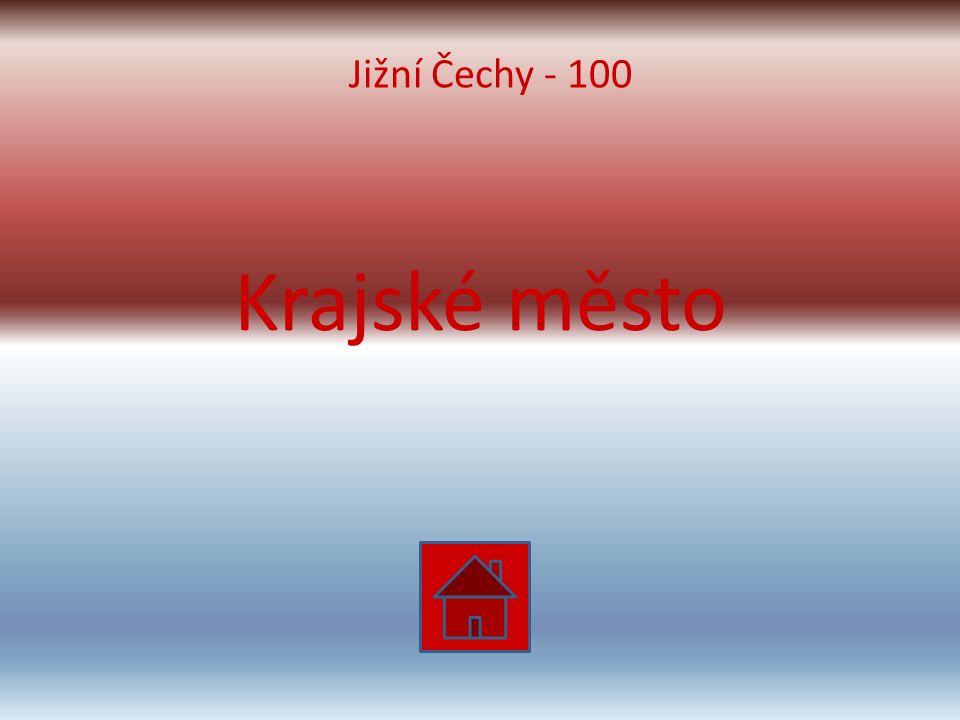 Krajské město Jižní Čechy - 100