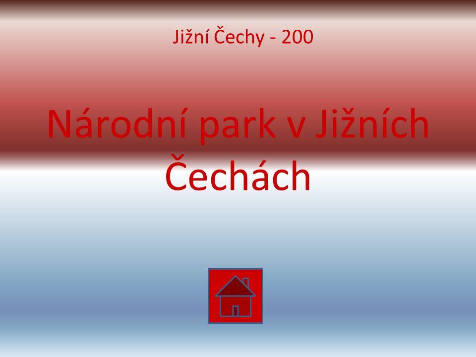 Národní park v Jižních Čechách Jižní Čechy - 200