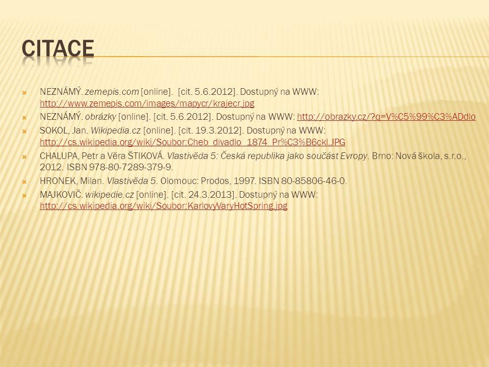  NEZNÁMÝ. zemepis.com [online]. [cit. 5.6.2012].