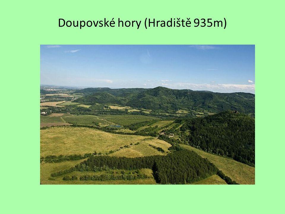 Doupovské hory (Hradiště 935m)