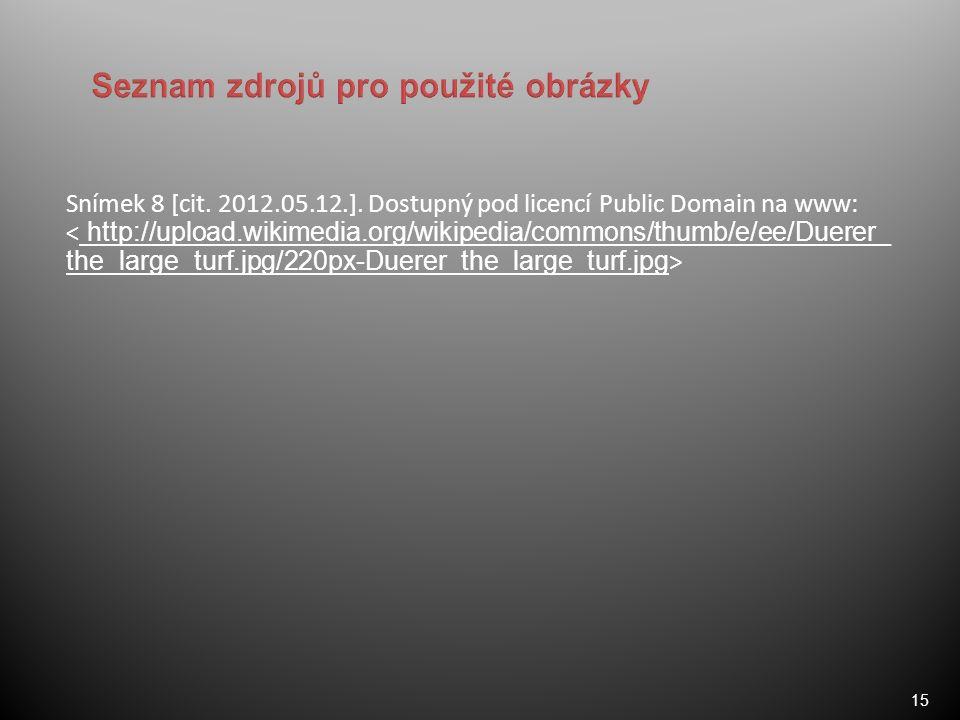 15 Snímek 8 [cit. 2012.05.12.].