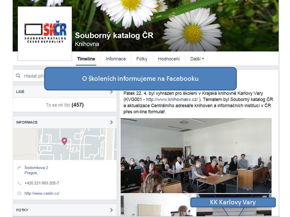 KK Karlovy Vary O školeních informujeme na Facebooku