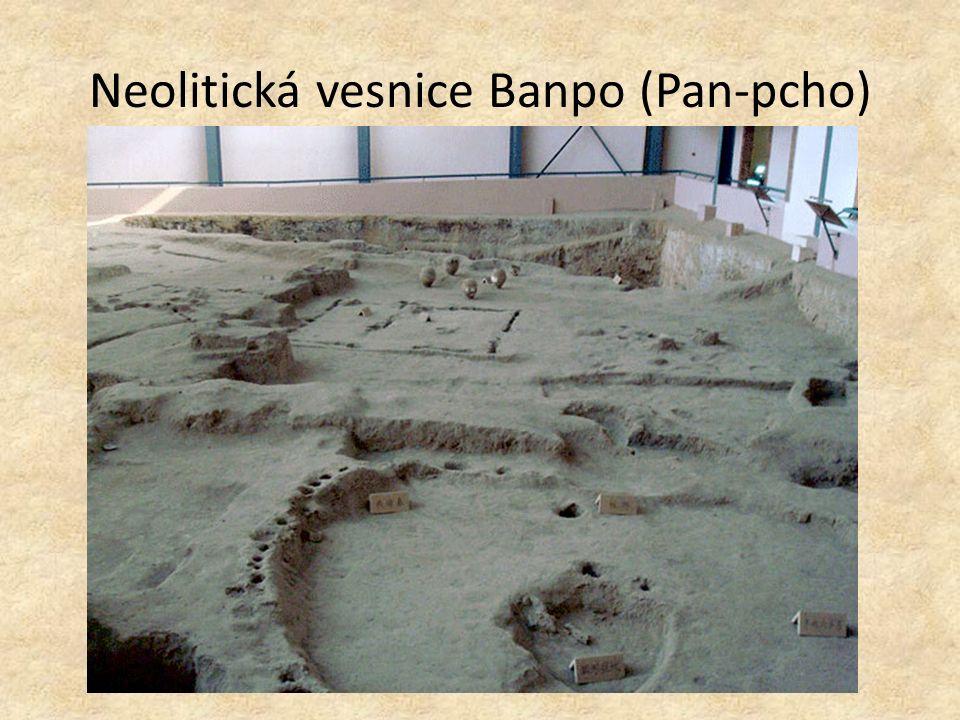 Neolitická vesnice Banpo (Pan-pcho)