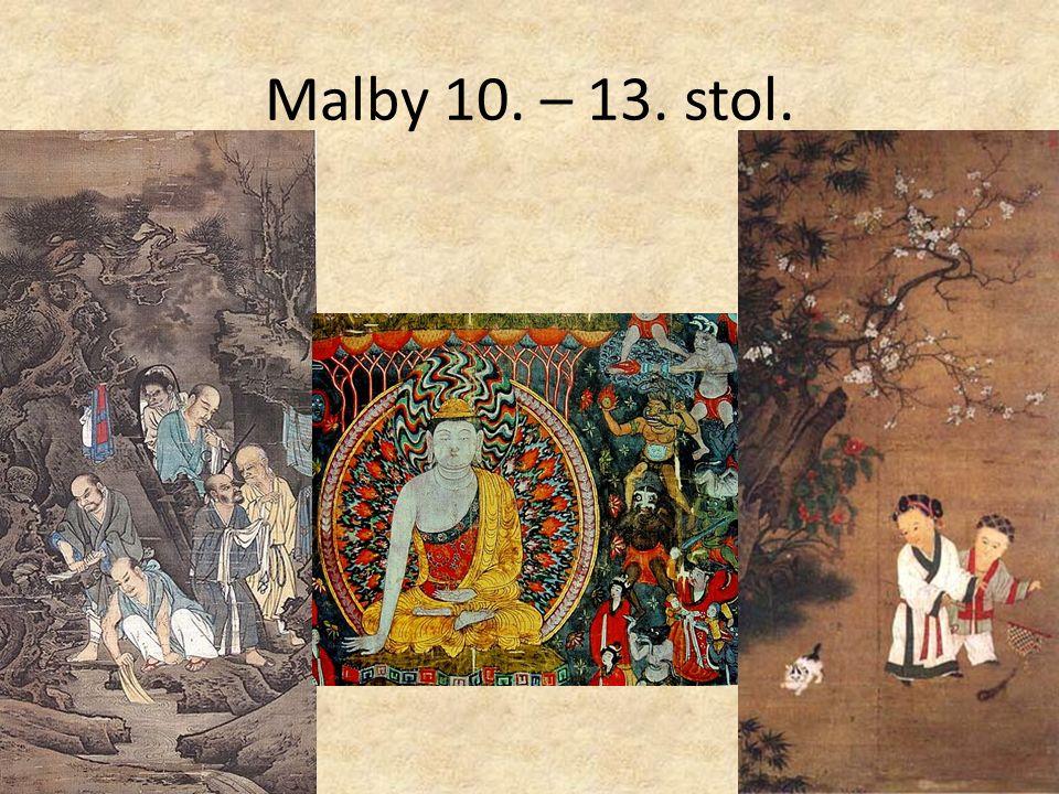 Malby 10. – 13. stol.