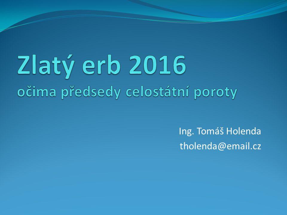 Ing. Tomáš Holenda tholenda@email.cz