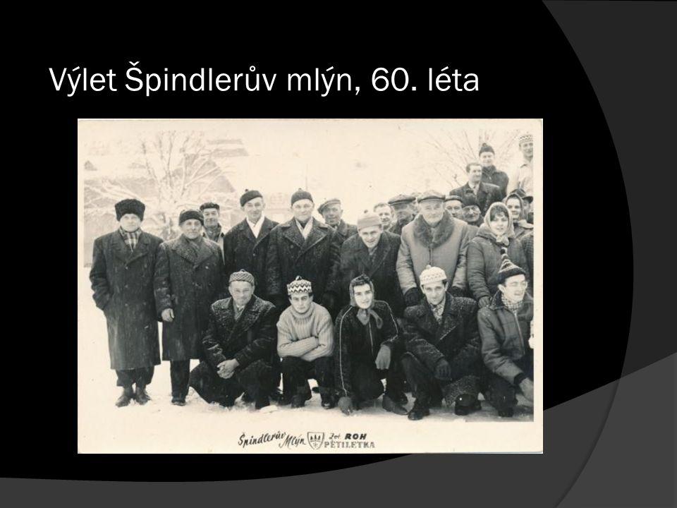Výlet Špindlerův mlýn, 60. léta