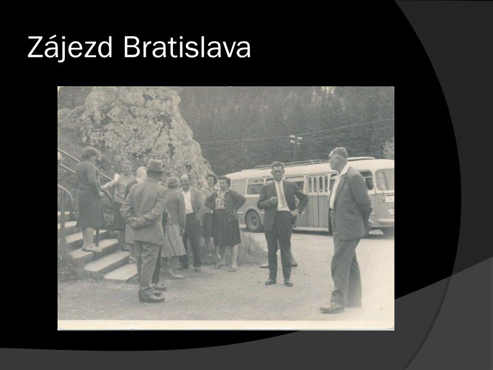 Zájezd Bratislava