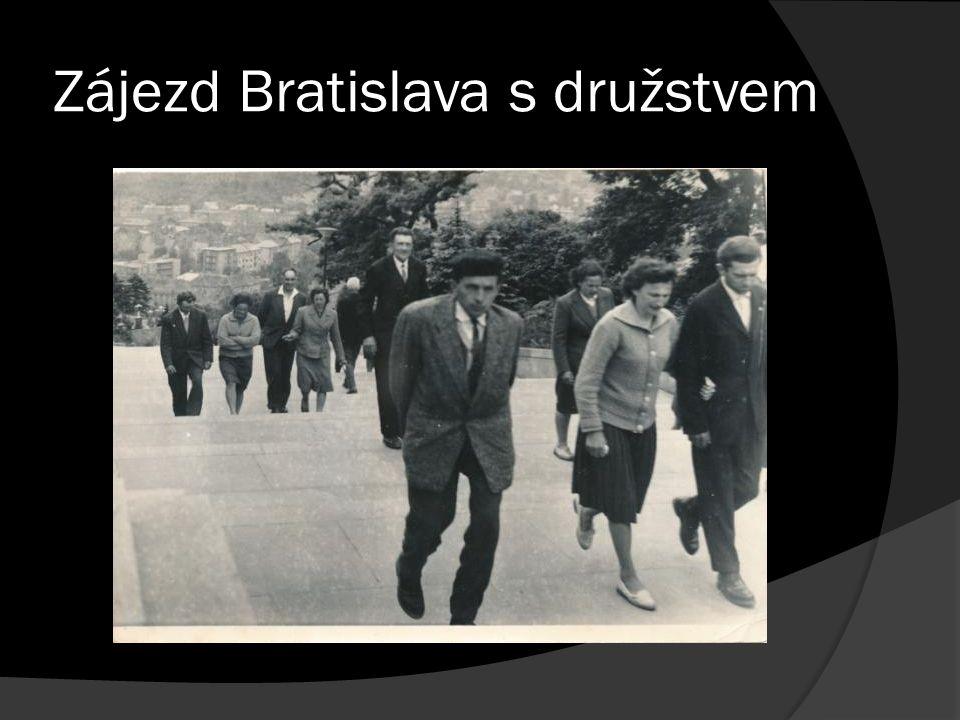 Zájezd Bratislava s družstvem