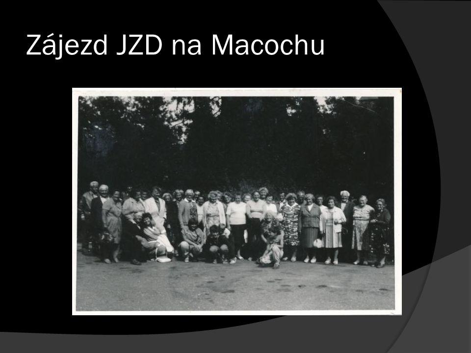 Zájezd JZD na Macochu