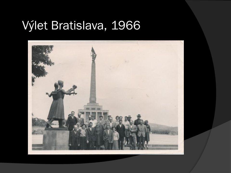 Výlet Bratislava, 1966