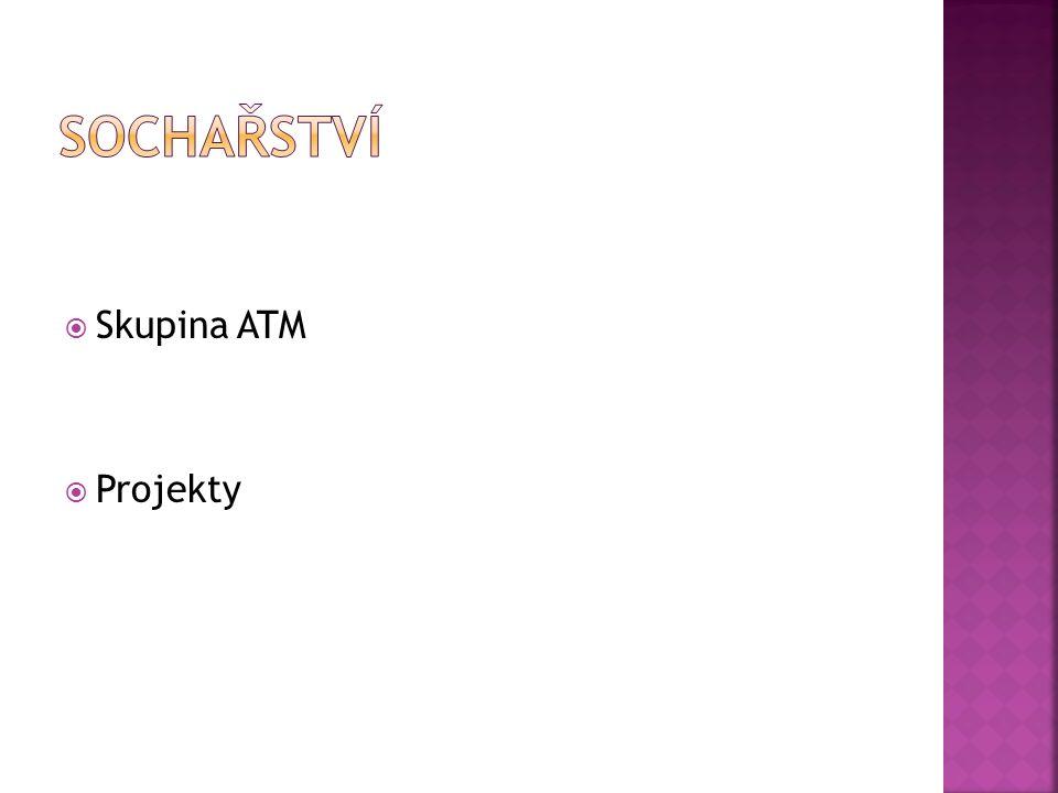  Skupina ATM  Projekty