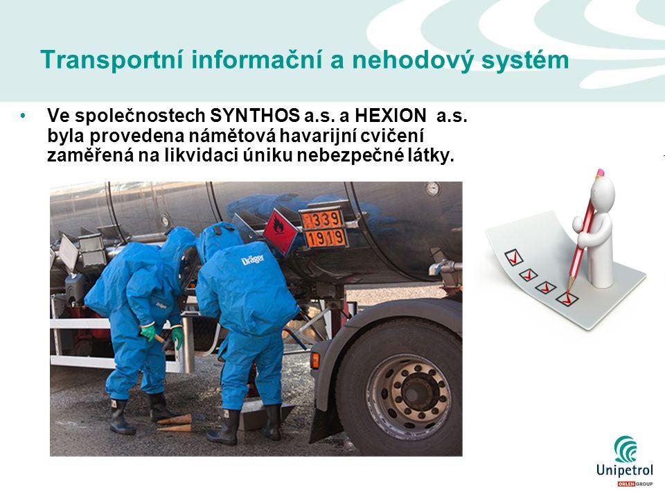 Transportní informační a nehodový systém Ve společnostech SYNTHOS a.s.