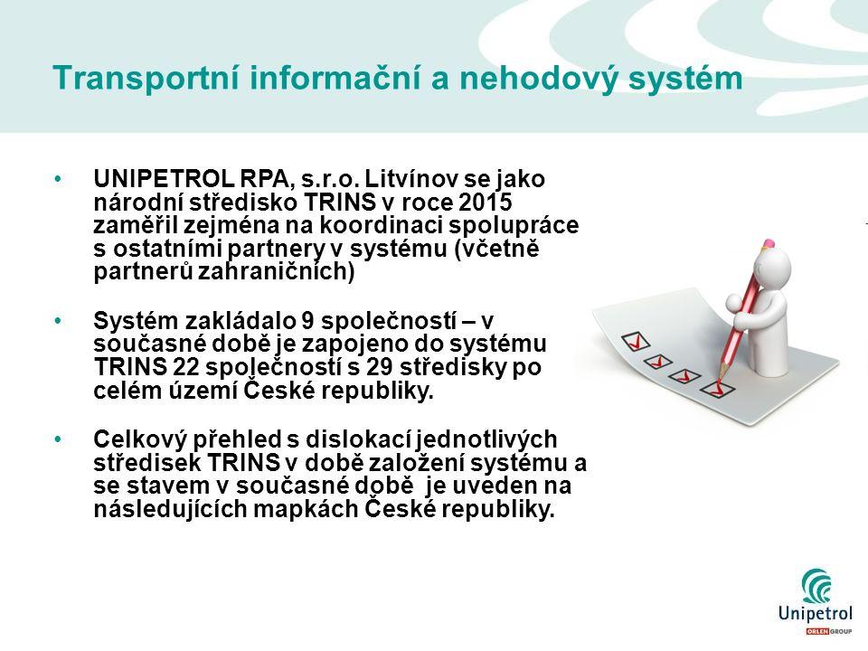 Transportní informační a nehodový systém UNIPETROL RPA, s.r.o.