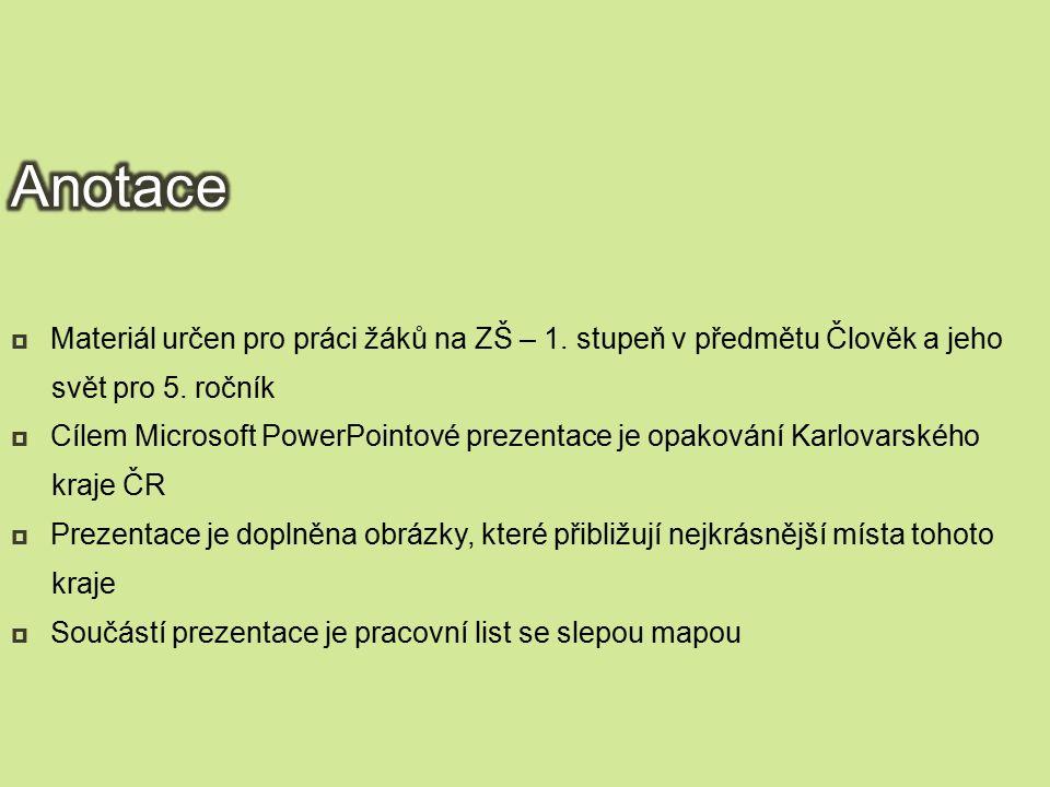 Datum vytvoření:  List č.