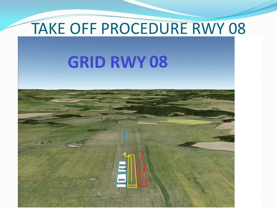 TAKE OFF PROCEDURE RWY 08