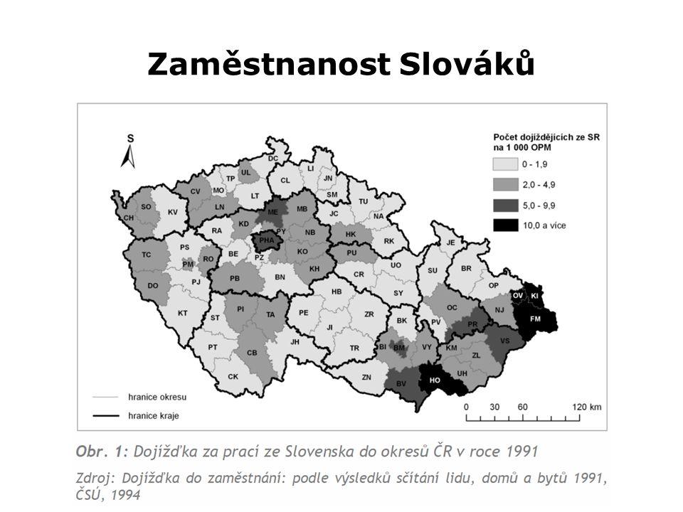 Zaměstnanost Slováků